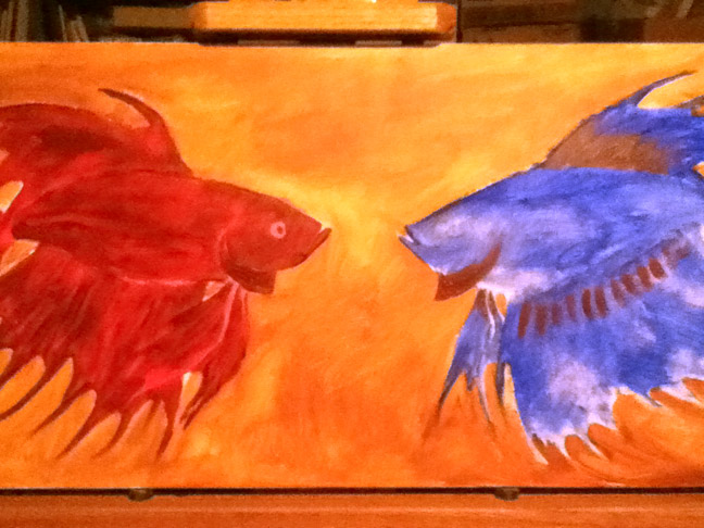 One Fish, Two Fish, Red Fish, Blue Fish by Jennifer Broschinsky