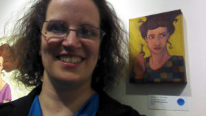 Jennifer Broschinsky and her art
