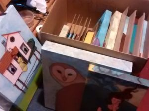 Box of returning art