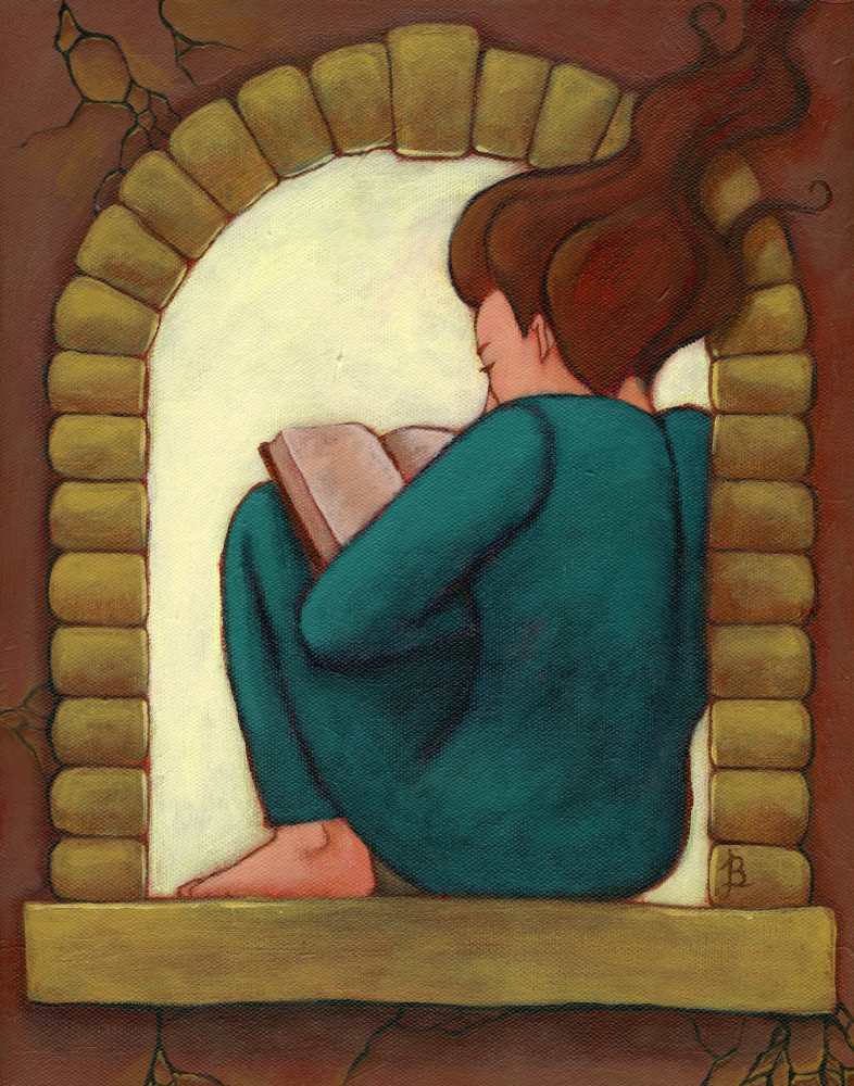 Reading Nook by Jennifer Broschinsky